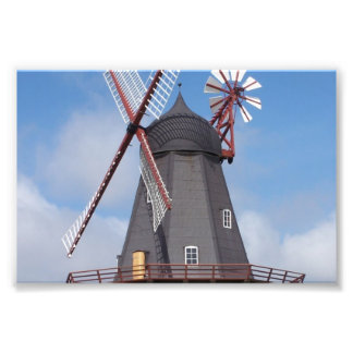 Molino de viento Dinamarca de Fanoe Arte Fotográfico