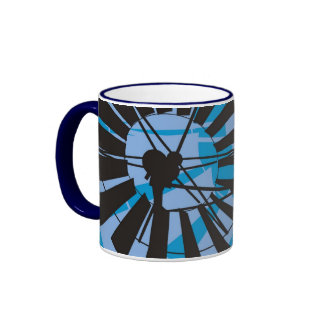 Molino de viento Drinkware Taza De Dos Colores