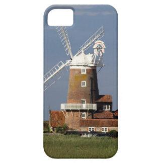 Molino de viento en Cley, Norfolk del norte iPhone 5 Funda