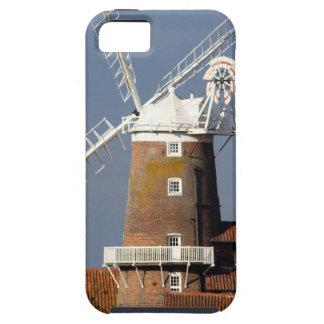 Molino de viento en Cley, Norfolk del norte iPhone 5 Case-Mate Protectores