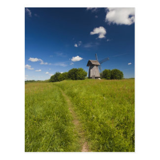Molino de viento en Mikhailovskoye Postales