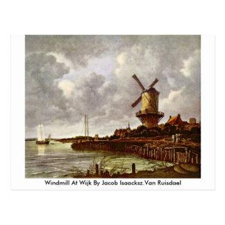 Molino de viento en Wijk de Jacob Isaacksz.Van Rui Postales