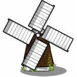 Molino de viento esculturas fotográficas