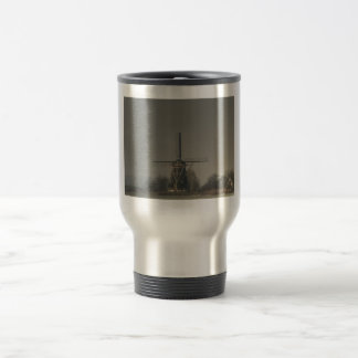 Molino de viento holandés #2 tazas de café