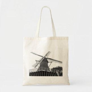 Molino de viento holandés bolsas lienzo