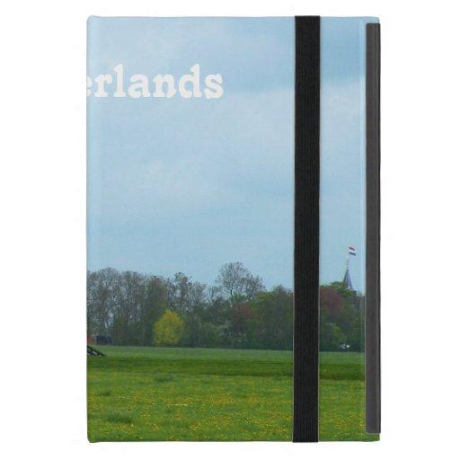 Molino de viento holandés iPad mini protectores