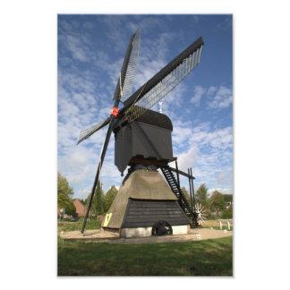 Molino de viento holandés fotografia