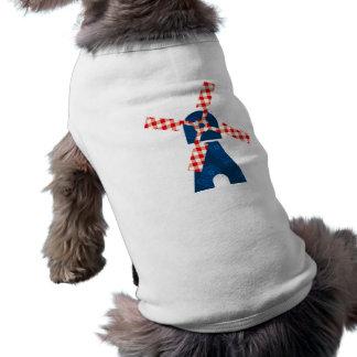 Molino de viento holandés ropa de mascota