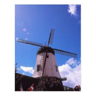 Molino de viento holandés, Solvang CA Tarjetas Postales