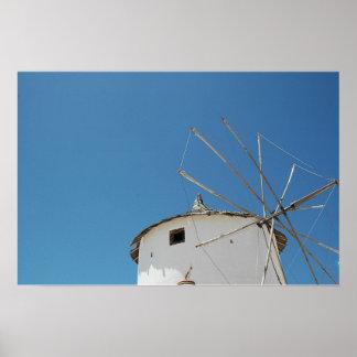 Molino de viento impresiones