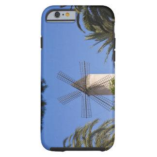 Molino de viento, Palma, Mallorca, España Funda De iPhone 6 Tough
