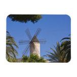 Molino de viento, Palma, Mallorca, España Imanes Rectangulares