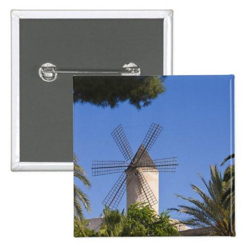 Molino de viento, Palma, Mallorca, España Pin