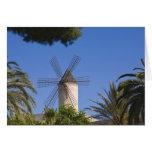 Molino de viento, Palma, Mallorca, España Tarjetas