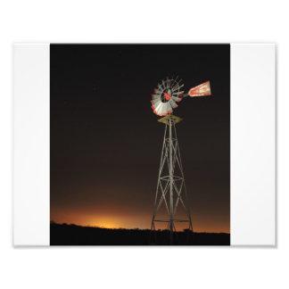 Molino de viento arte fotográfico