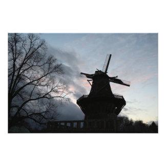 Molino de viento arte con fotos