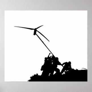 Molino de viento póster