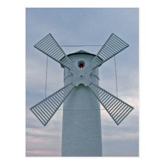 Molino de viento tarjetas postales