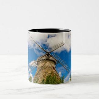 Molino de viento taza de dos tonos
