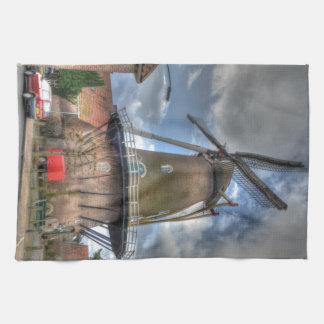 Molino de viento toalla de mano