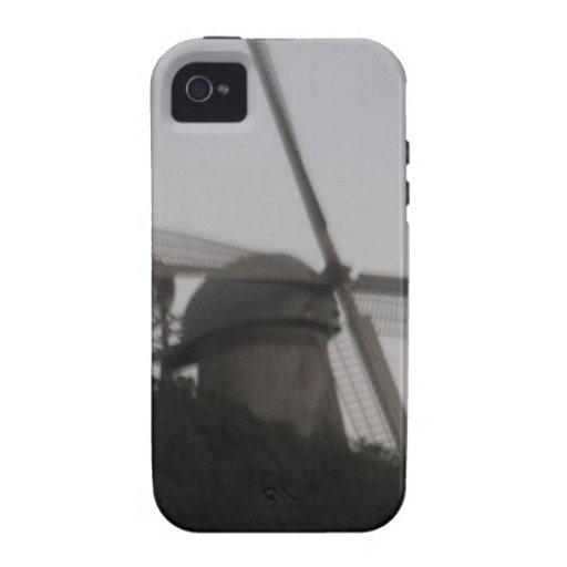 Molino de viento vibe iPhone 4 fundas