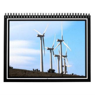 Molinoes de viento de California Calendarios