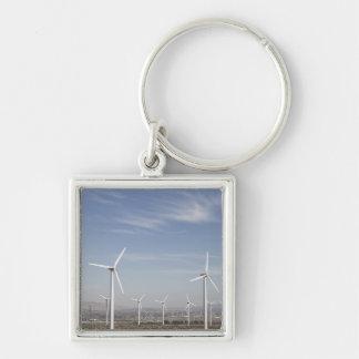 Molinoes de viento de mirada agradables en el desi llaveros personalizados