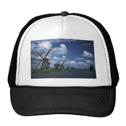 Molinoes de viento en Holanda Gorras