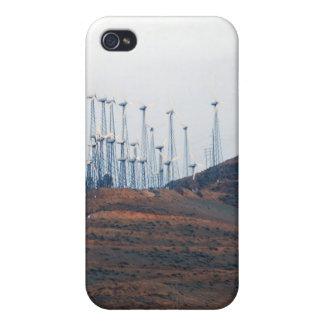 Molinoes de viento en la distancia 3 iPhone 4/4S funda