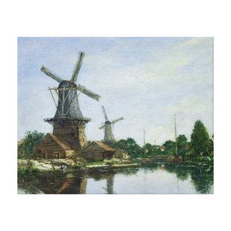 Molinoes de viento holandeses, 1884 lona estirada galerias