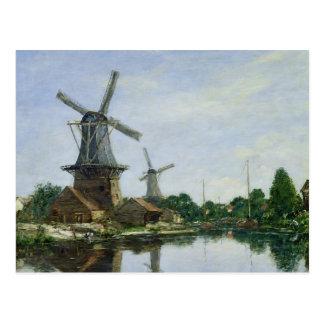 Molinoes de viento holandeses, 1884 tarjetas postales