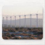 Molinoes de viento Mousepad del Palm Springs Alfombrilla De Ratón