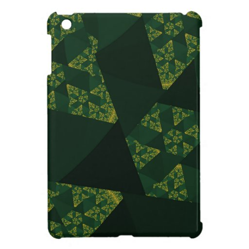 Molinoes de viento verdes iPad mini protectores
