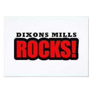Molinos de Dixons, Alabama Invitación 12,7 X 17,8 Cm