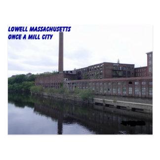 Molinos de Lowell Massachusetts Postales