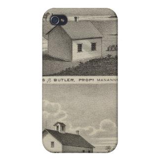 Molinos de Manannah, Manannah, Minnesota iPhone 4/4S Funda