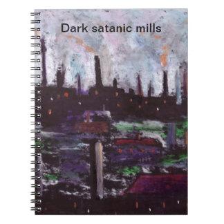 Molinos satánicos oscuros libretas