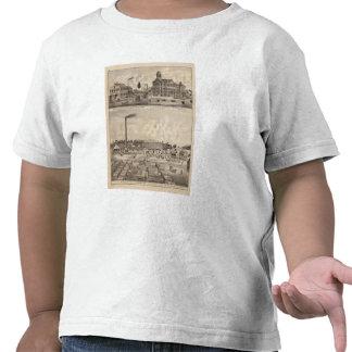 Molinos y almacén de maderas en Minnesota Camisetas