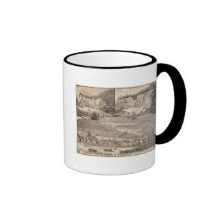 Molinos y minas de mármol italianos tazas de café