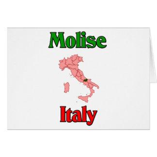 Molise Italia Tarjetón