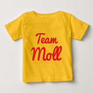 Moll del equipo camisas