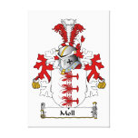 Moll Family Crest Canvas Print