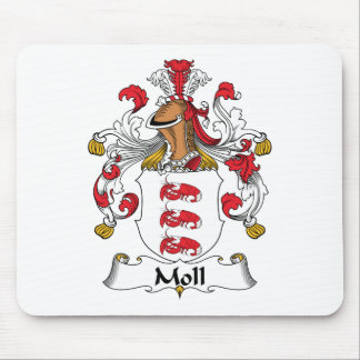 Moll Family Crest Mouse Pad