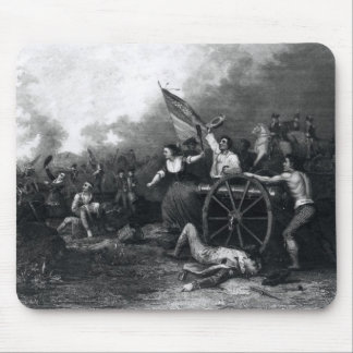Moll Pitcher at the Battle of Monmouth Mouse Pad