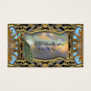 """Mollenthorpes Hair Stylist and Salon 3.5"""" x 2.0"""" Business Card at Zazzle"""