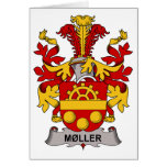 Moller Family Crest Greeting Card
