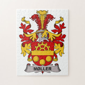 Moller Family Crest Jigsaw Puzzle