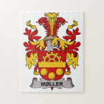 Moller Family Crest Jigsaw Puzzles