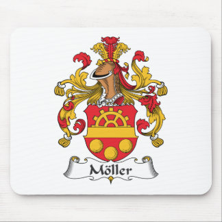Moller Family Crest Mouse Pad
