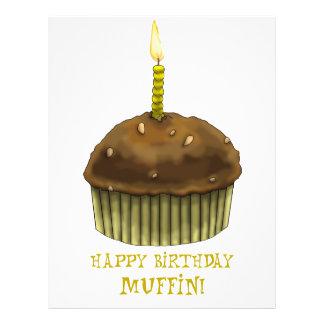 Mollete del feliz cumpleaños tarjeton